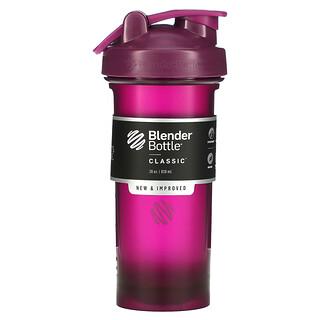 Blender Bottle, كوب Classic مع حلقة، قرمزي، 28 أونصة (828 مل)
