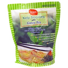 Sea Tangle Noodle Company, Nouilles de varech, au Thé vert, 12 oz (340 g)