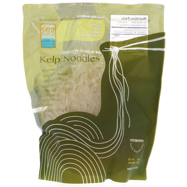 Sea Tangle Noodle Company, Fideos Kelp, 12 oz (340 g)