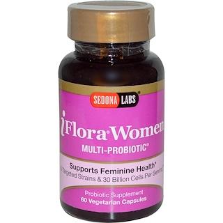 Sedona Labs, iFlora Women, Multi-Probiotic, 60 Veggie Caps