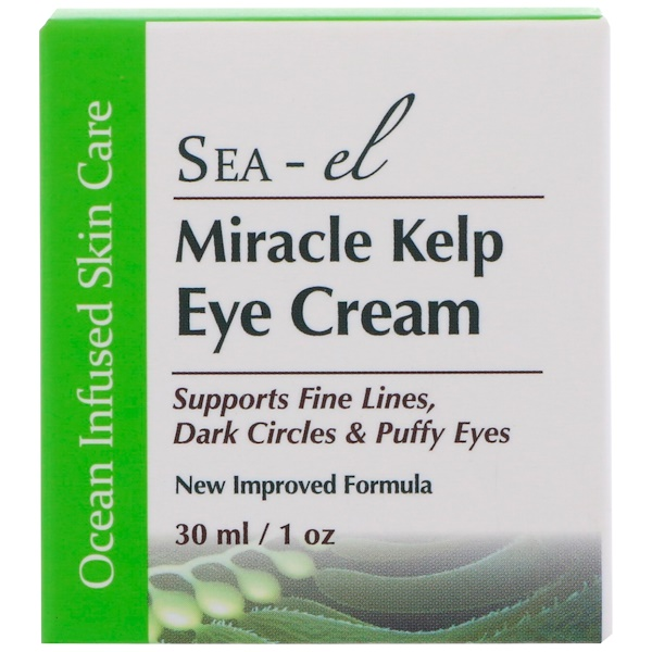 :Sea el, Miracle Kelp Eye Cream, 1 oz (30 ml)