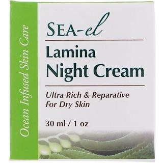 Sea el, Lamina Night Cream, 1 oz (30 ml)