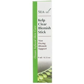 Sea el, Kelp Clear Blemish Stick, 0.33 oz (9 ml)