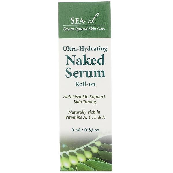 Sea el, Naked Serum, Roll-On, 0.33 oz (9 ml)