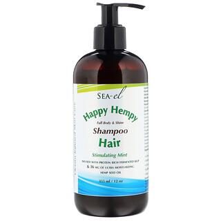 Sea el, Happy Hempy, Shampoo, Stimulating Mint, 12 oz (355 ml)