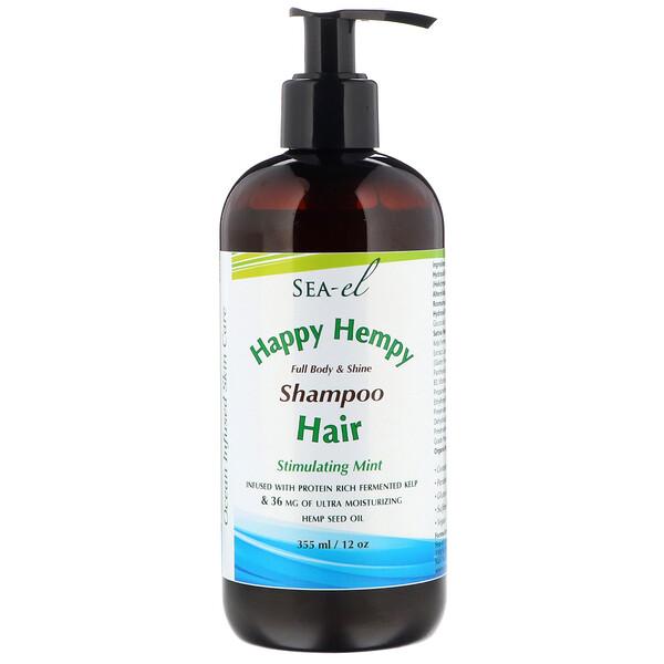 Happy Hempy, Shampoo, Stimulating Mint, 12 oz (355 ml)