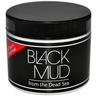 Sea Minerals, Black Mud, All Natural Facial Mask, 3 oz