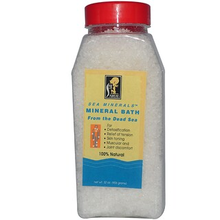Sea Minerals, Mineral Bath Salt, 2 lbs (906 g)