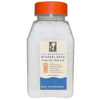 Sea Minerals, Минеральная соль для ванны из Мертвого моря, 1 фунт (453 г)