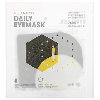 Steambase, Daily Eyemask, Silent Night Air, 1 Mask