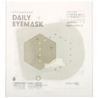 Steambase, Daily Eyemask, Unscented, 1 Mask