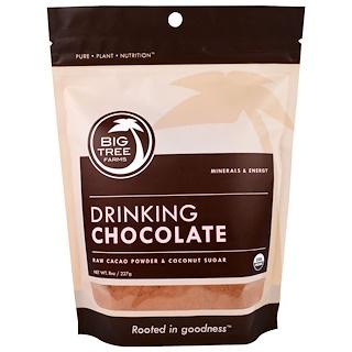 Big Tree Farms, Organic, Drinking Chocolate Powder, 8 oz (227 g)
