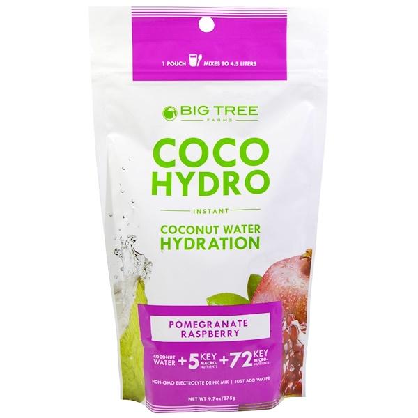 Big Tree Farms, Coco Hydro, Pomegranate Raspberry, 9.7 oz (275 g) (Discontinued Item)