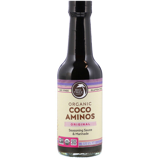 Big Tree Farms, Organic Coco Aminos, Seasoning Sauce & Marinade, Original, 10 fl oz (296 ml)