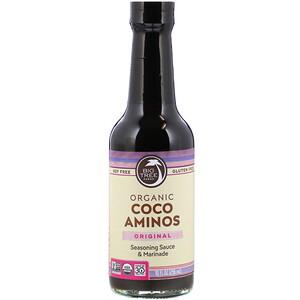 Биг Три Фармс, Organic Coco Aminos, Seasoning Sauce & Marinade, Original, 10 fl oz (296 ml) отзывы покупателей