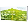 Seventh Generation, Facial Tissue, 2-Ply, White, Unscented, 175 Tissues, 9.0 in x 7.8 in (22.8 cm X 19.8 cm) (Discontinued Item)