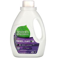 Seventh Generation, 洗衣粉,薰衣花草,50 液量盎司(1.47 升)