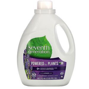 Seventh Generation, Laundry Detergent, Fresh Lavender, 100 fl oz (2.95 L)