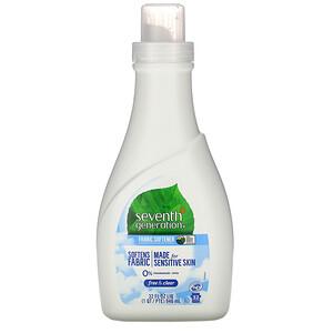 Seventh Generation, Fabric Softener, Free & Clear, 32 fl oz (946 ml)'