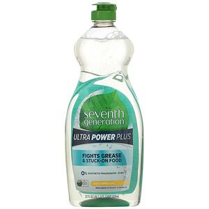 Севент Генератион, Dish Liquid Detergent, Ultra Power Plus, Fresh Citrus, 22 fl oz (650 ml) отзывы