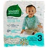 Seventh Generation, Baby, Free & Clear Diapers, Size 3, 16-24 lbs (7-11 kg), 31 Diapers