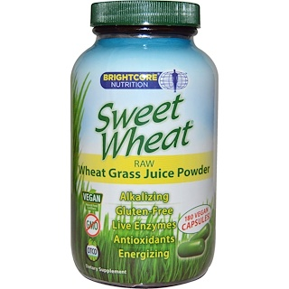 Sweet Wheat, Sweet Wheat, Wheat Grass Juice, 180 Capsules