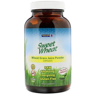 Sweet Wheat, Wheat Grass Juice Powder, 180 Vegan Capsules