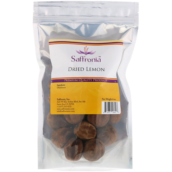 Saffronia, 幹檸檬,6盎司 (Discontinued Item)