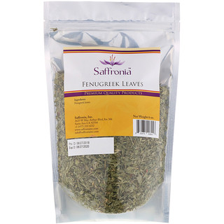 Saffronia Inc, Fenugreek Leaves, 6 oz