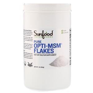 Санфуд, Pure Opti-MSM Flakes, 1 lb (454 g) отзывы