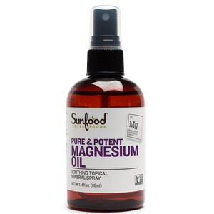 Санфуд, Pure & Potent Magnesium Oil, 4 fl oz (118 ml) отзывы
