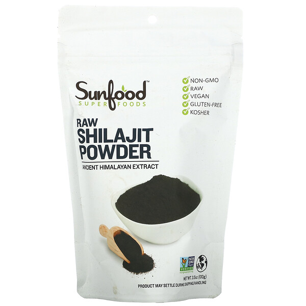 Sunfood, RAW Shilajit Powder, 3.5 oz (100 g)