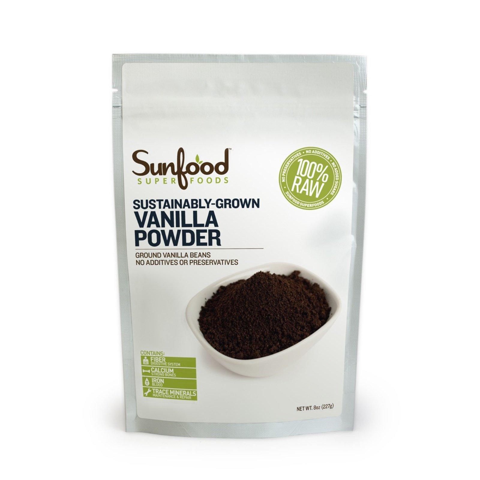 Sunfood pure vanilla powder
