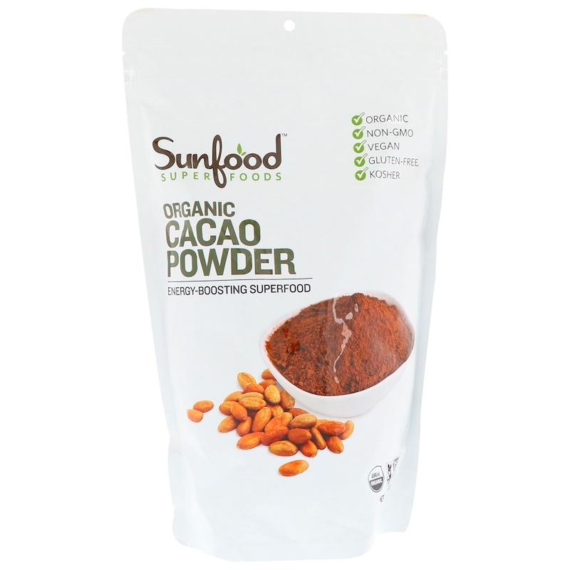 Organic Cacao Powder, 1 lb (454 g)
