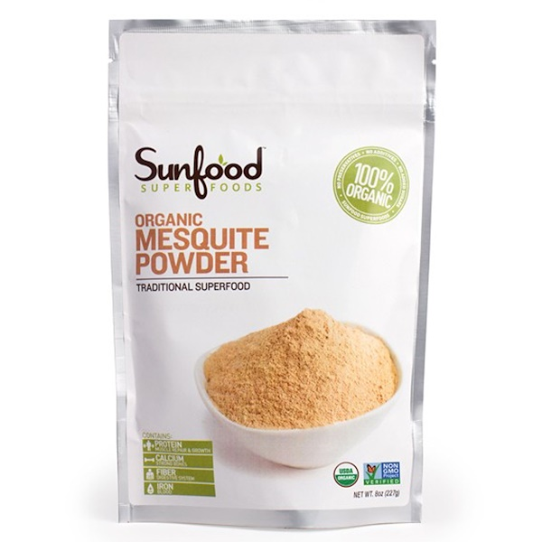 Sunfood, Sweet Mesquite Powder, 8 oz (227 g) (Discontinued Item)