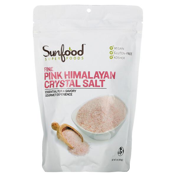 Fine Himalayan Crystal Salt, 1 lb (454 g)