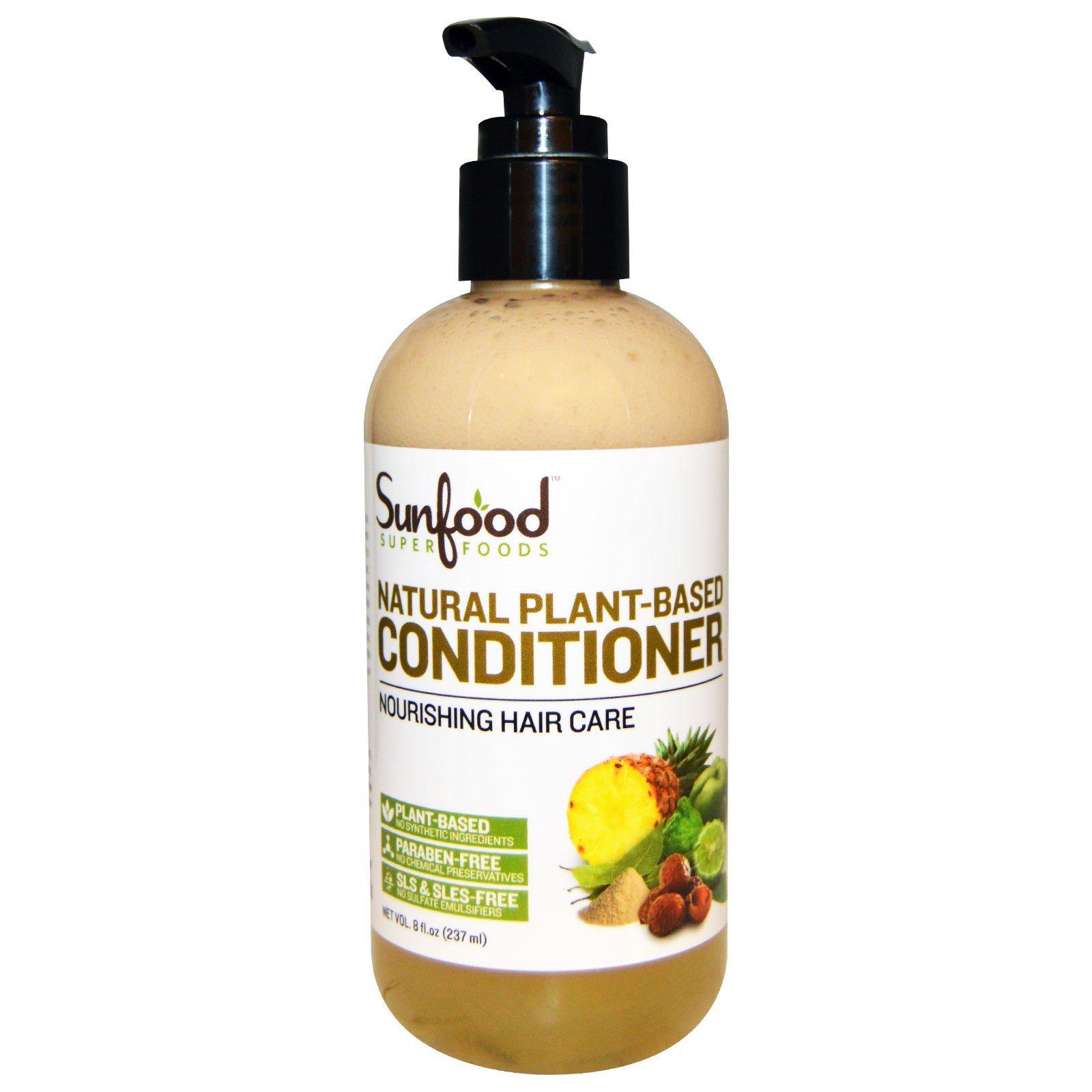 Sunfood, Натуральный кондиционер на растительной основе, 8 жидких унций (237 мл)