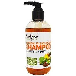 Sunfood, Natural Plant-Based Shampoo, 8 fl oz (237 ml)