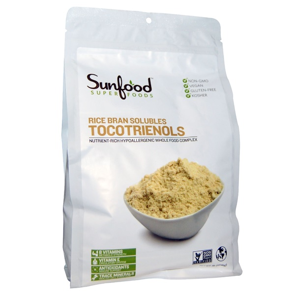 Tocotrienols rice bran solubles
