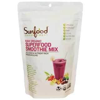 Sunfood, Raw Organic Superfood Smoothie Mix, 8 oz (227 g)
