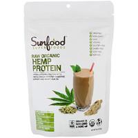 Sunfood, Raw Organic Hemp Protein, 8 oz (227 g)