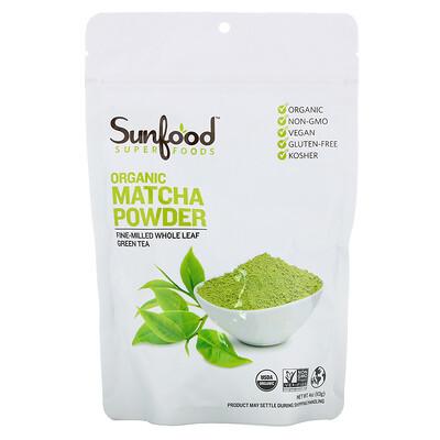 Купить Sunfood Superfoods, Organic Matcha Powder, 4 oz (113 g)