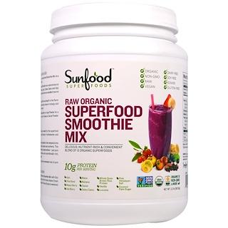 Sunfood, Raw Organic Superfood Smoothie Mix, 2.2 lbs (997.9 g)