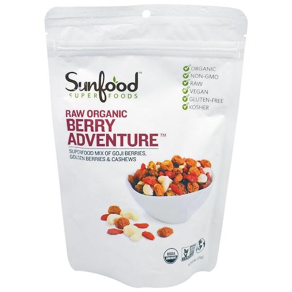 Sunfood, Raw Organic Berry Adventure, 6 oz (170 g) (Discontinued Item)
