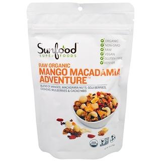 Sunfood, Raw Organic Mango Macadamia Adventure, 6 oz (170 g)
