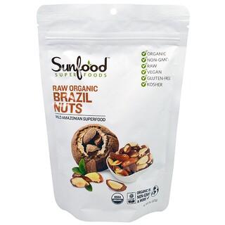 Sunfood, Raw Organic Brazil Nuts, 8 oz (227 g)