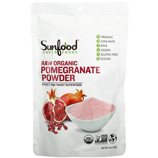 Sunfood, Raw Organic Pomegranate Powder, 4 oz (113 g)