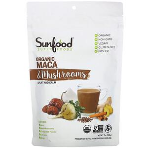 Sunfood, 有機瑪卡和蘑菇,7 盎司(198 克)'