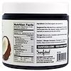 Sunfood, ココナッツオイル, 生のエクストラバージン, 16液量オンス(473.2 ml)