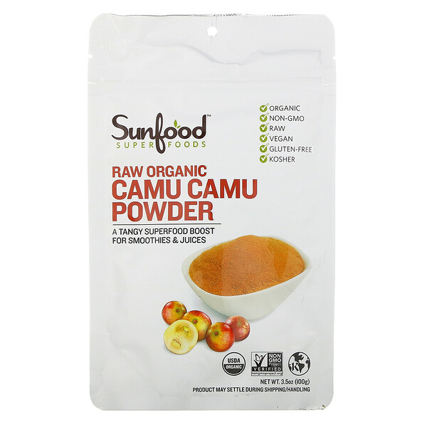 Raw Organic Camu Camu Powder, 3.5 oz (100 g)